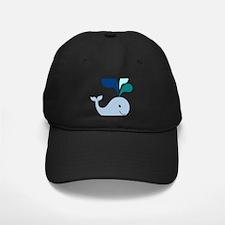 Happy Blue Whale Baseball Hat