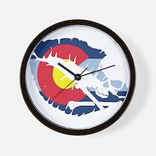 colorado kiss Wall Clock