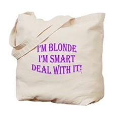 Unique Blonde jokes Tote Bag