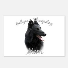Sheepdog Mom2 Postcards (Package of 8)