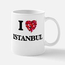 I love Istanbul Turkey Mugs