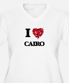 I love Cairo Egypt Plus Size T-Shirt