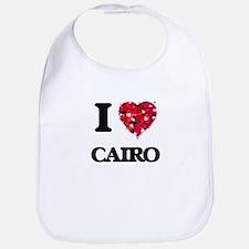 I love Cairo Egypt Bib