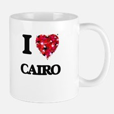 I love Cairo Egypt Mugs