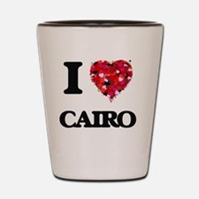 I love Cairo Egypt Shot Glass