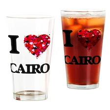 I love Cairo Egypt Drinking Glass