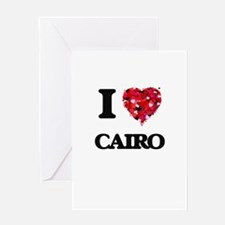 I love Cairo Egypt Greeting Cards