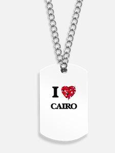 I love Cairo Egypt Dog Tags