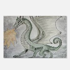Fire Breathing Dragon Postcards (Package of 8)