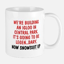 Snowsuit Up Mugs