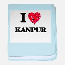 I love Kanpur India baby blanket