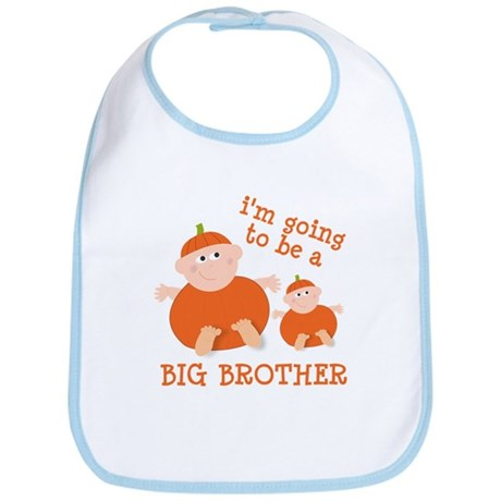 little pumpkin big brother Bib
