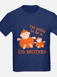 little pumpkin big brother T