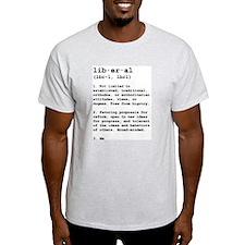 Liberal Defined Ash Grey T-Shirt