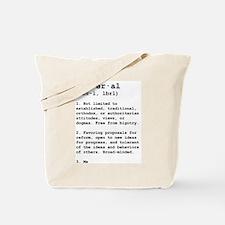 Liberal Defined Tote Bag