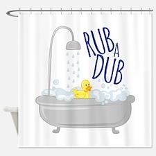 Rub A Dub Shower Curtain
