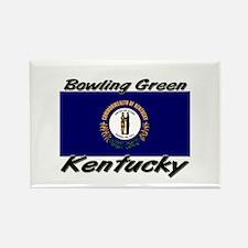 Bowling Green Kentucky Rectangle Magnet