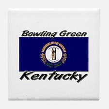 Bowling Green Kentucky Tile Coaster