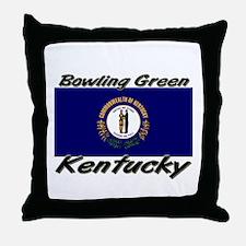 Bowling Green Kentucky Throw Pillow