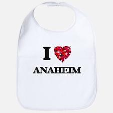 I love Anaheim California Bib