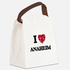 I love Anaheim California Canvas Lunch Bag