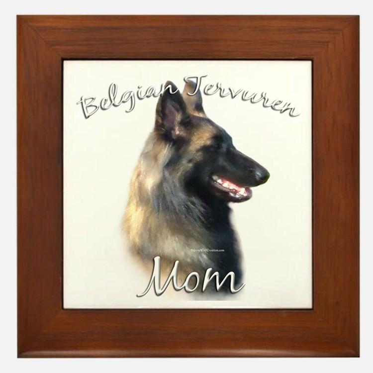 Terv Mom2 Framed Tile