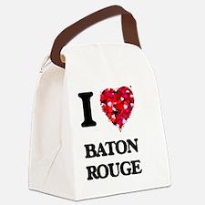 Unique Lsu baton rouge Canvas Lunch Bag