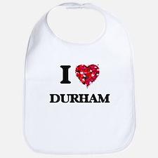 I love Durham North Carolina Bib
