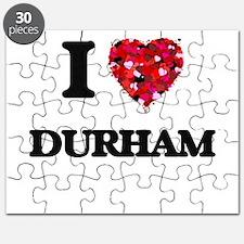 I love Durham North Carolina Puzzle