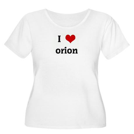 I Love orion Women's Plus Size Scoop Neck T-Shirt