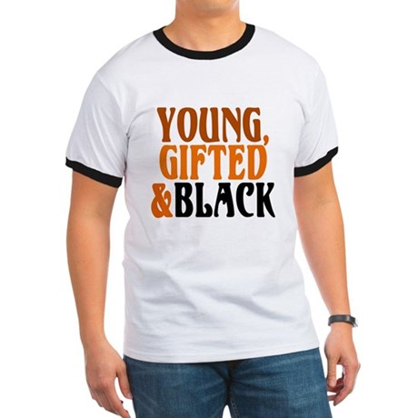 young, gifted, black Ringer T