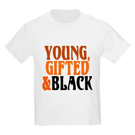 young, gifted, black Kids Light T-Shirt