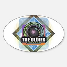 Oldies Forever Decal