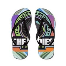 Oldies Forever Flip Flops