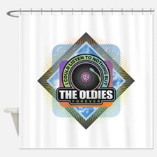 Oldies Forever Shower Curtain