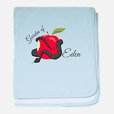 Garden Of Eden baby blanket