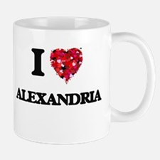 I love Alexandria Virginia Mugs