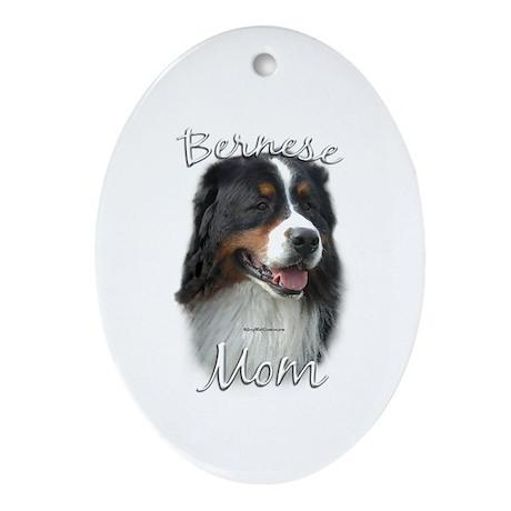 Berner Mom2 Oval Ornament
