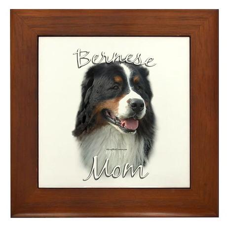 Berner Mom2 Framed Tile