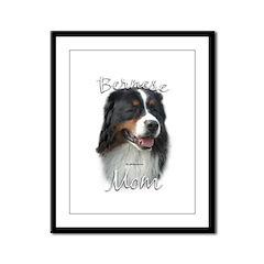 Berner Mom2 Framed Panel Print