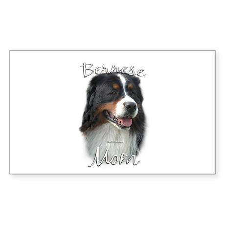 Berner Mom2 Rectangle Sticker