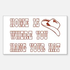 HOME IS WHERE... Decal