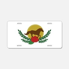 Derby Day Logo Aluminum License Plate