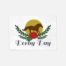 Derby Day 5'x7'Area Rug