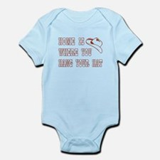 HOME IS WHERE... Infant Bodysuit