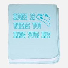 HOME IS WHERE... baby blanket