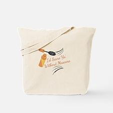 Without Mascara Tote Bag