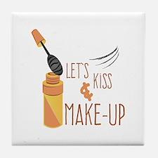 Kiss & Make-Up Tile Coaster