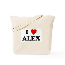 I Love ALEX Tote Bag
