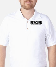 Rescued is My Favorite Breed Golf Shirt